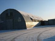 тёплый  ангар 540м2 с кран-балкой и др. оборудованием + территория 1250м2