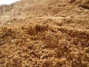 Пескогрунт (песчаный грунт) с доставкой 25 тонн,  18м3